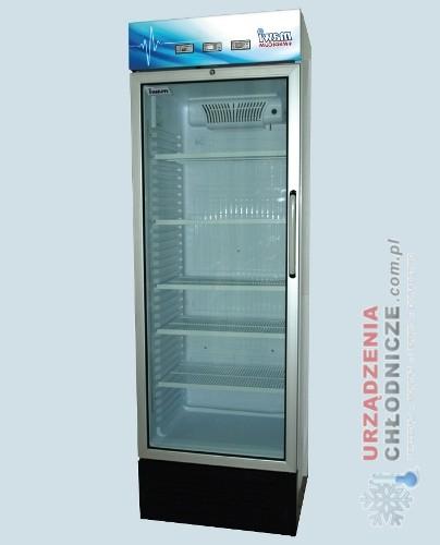 Szafa chłodnicza SCHMED 440 (półki, termostat + rejestrator temperatury)