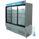 Regał chłodniczy RCH4D/0.9 z drzwiami przesuwnymi