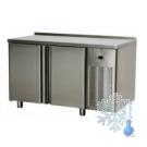 Stół chłodniczy dwudrzwiowy / blat nierdzewny SCH-2D/N